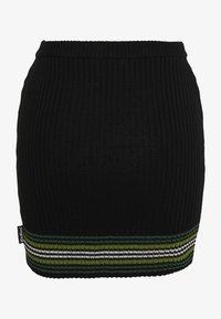 Kickers Classics - STRIPED HEM SKIRT - Miniskjørt - black/green - 1