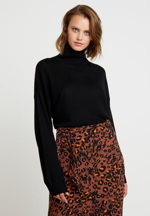 KLEO TURTLENECK - Jumper - black
