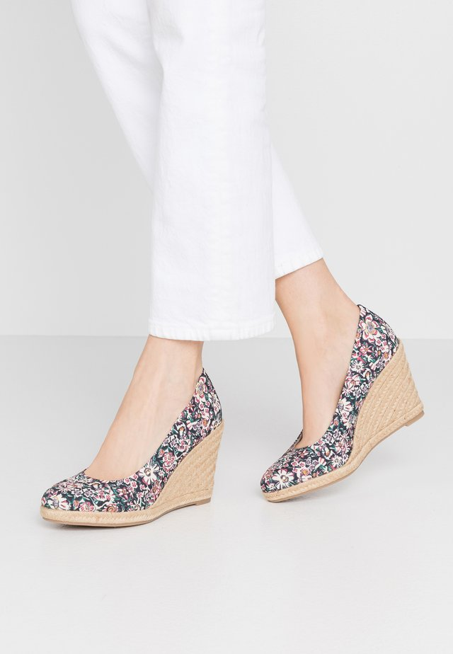 COURT SHOE - Høye hæler - multicolor