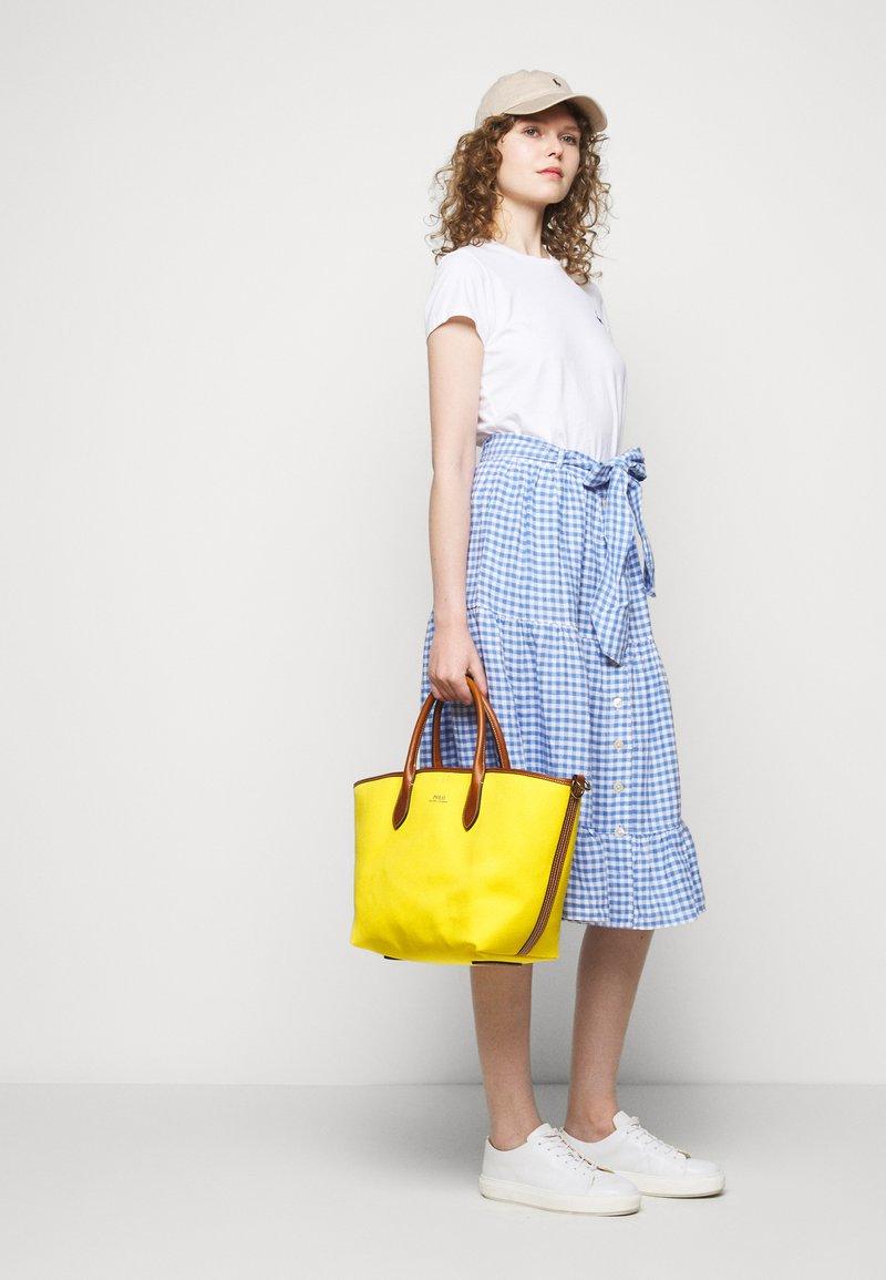 Polo Ralph Lauren - OPEN TOTE - Kabelka - yellow