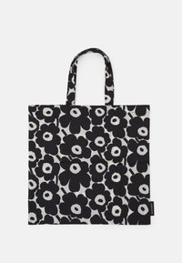 Marimekko - KIOSKI LOPULTA UNIKKO BAG - Tote bag - off white/black - 0