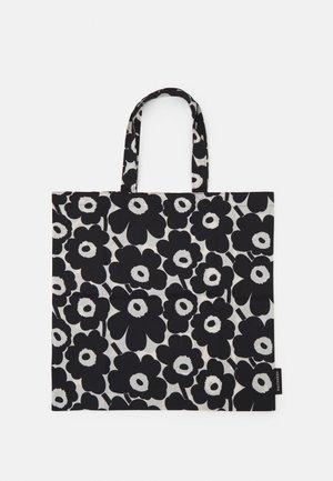 KIOSKI LOPULTA UNIKKO BAG - Shopping bag - off white/black