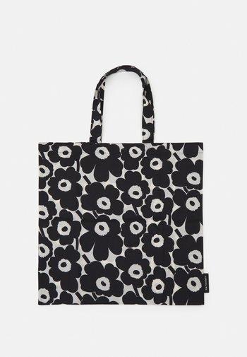 KIOSKI LOPULTA UNIKKO BAG - Tote bag - off white/black