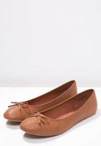 Anna Field - Ballet pumps - cognac - 4