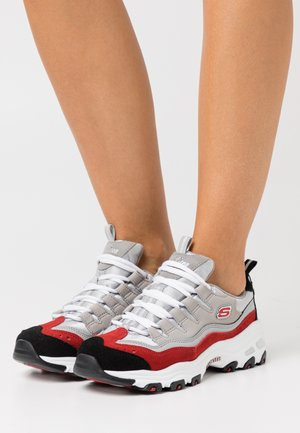 D'LITES - Trainers - gray/red/black/whit