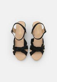 Kaporal - MAKITA - Sandály na platformě - noir - 5