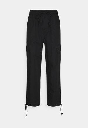 KRISTOFFER TORUSERS - Pantaloni cargo - black