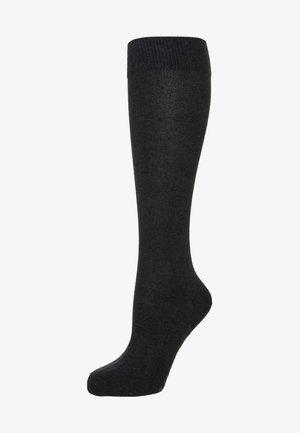 FALKE FAMILY KNIESTRÜMPFE  - Knee high socks - anthracite melange