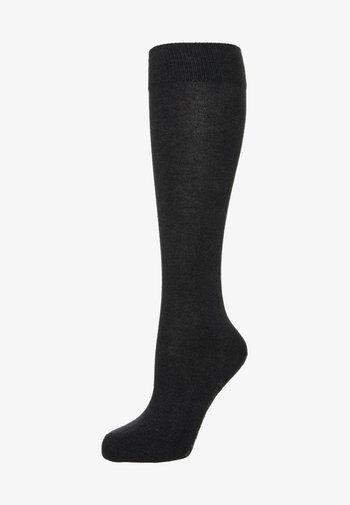 FAMILY - Knee high socks - anthracite melange