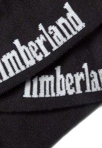 Timberland - 3 PACK - Trainer socks - black - 1