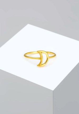 HALBMOND LUNA BASIC ASTRO CUT-OUT - Prsten - gold-coloured