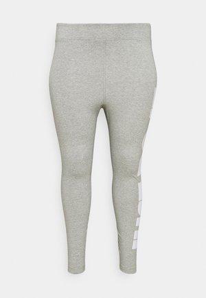 Leggings - grey heather/white