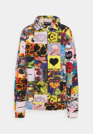 COLLAGE ZIP UP - Fleecepaita - multi