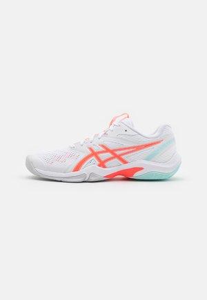 GEL-BLADE 8 - Volejbalové boty - white/sunrise red