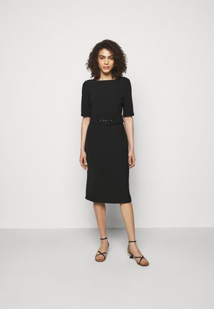 CAPANNA - Shift dress - nero