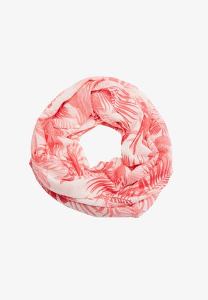 Snood - offwhite aop coral leafs