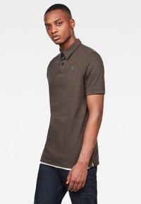 G-Star - HUNTING PATCH - Polo shirt - asfalt - 3
