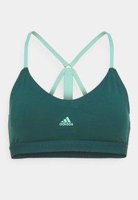 SUMMER BRA - Sports bra - wild teal/acid mint