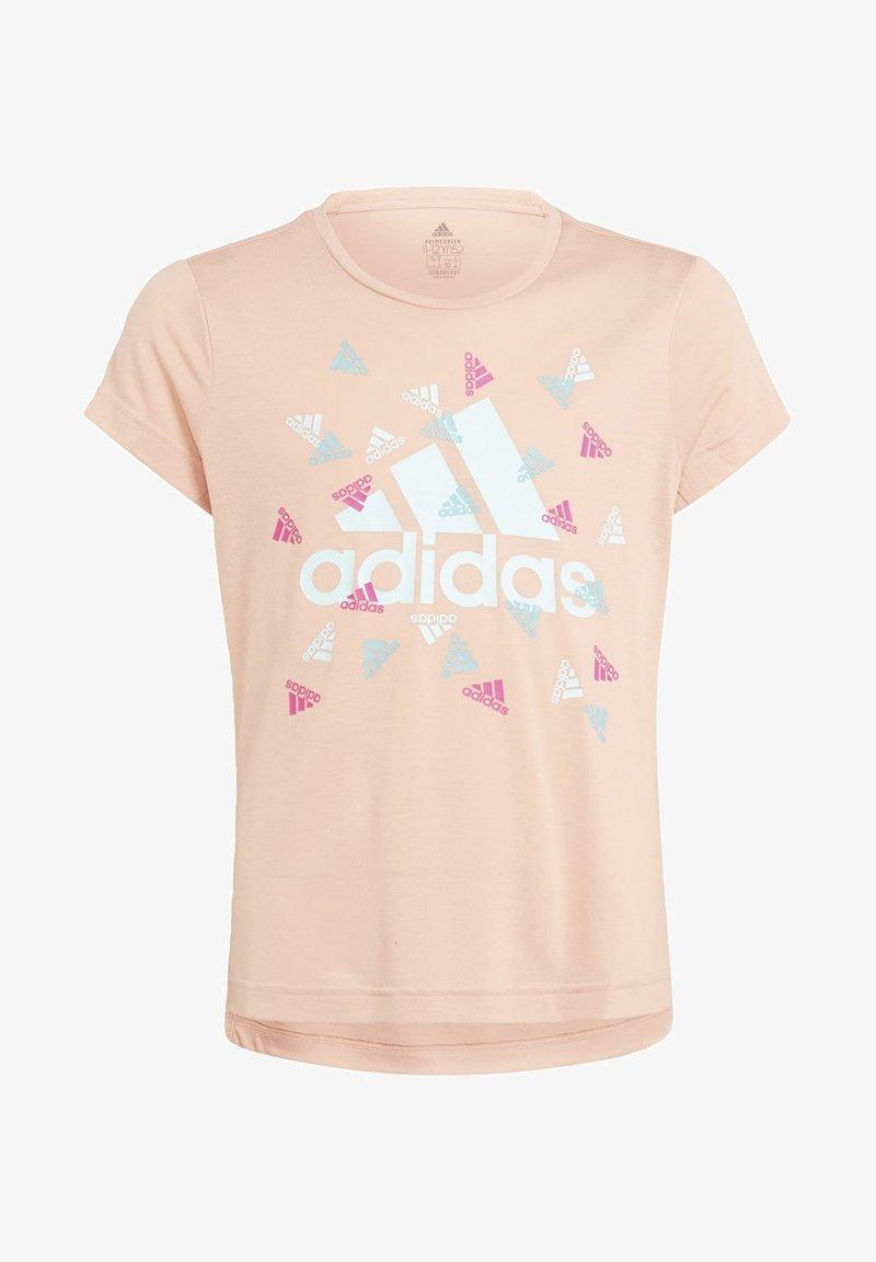 adidas Performance - AEROREADY - Camiseta estampada - pink