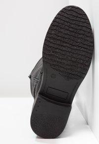 Coolway - DAVISON - Cowboy/Biker boots - black - 4