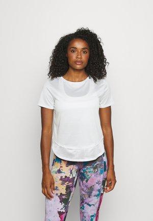 TECH VENT - T-shirt - bas - white