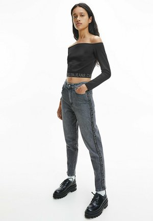 MILANO - Long sleeved top - ck black