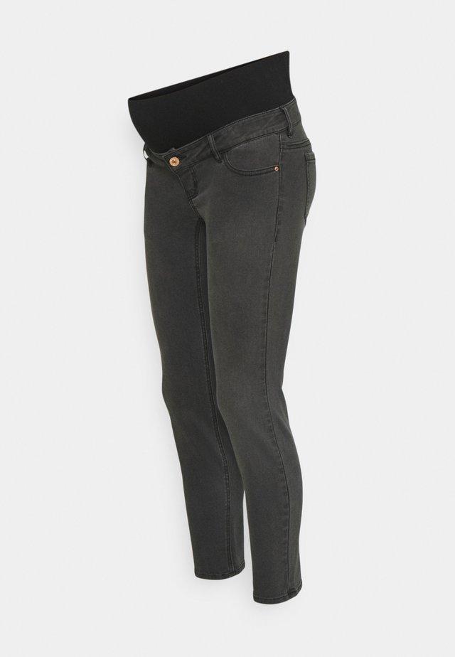 PCMLILA - Jean slim - black denim