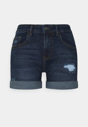 JDYTYSON LIFE FOLD UP MIX - Shorts di jeans - medium blue denim