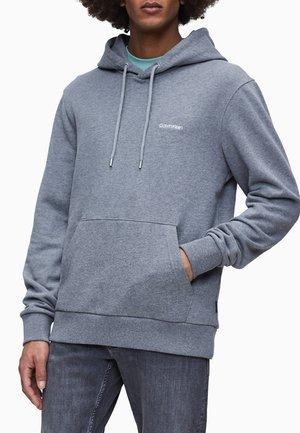 Hoodie - mid grey heather