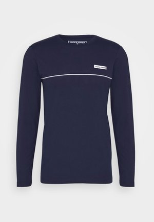 JCOZLS TEE - Long sleeved top - navy