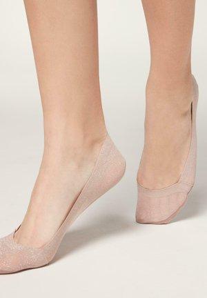 MODISCHE UNSICHTBARE - Trainer socks - light glitter rosa