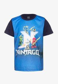 LEGO Wear - T-shirt z nadrukiem - dark navy - 0