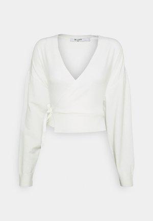 OVERLAP - Jumper - off white