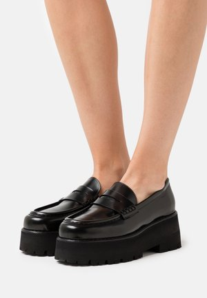 SCARPA DONNA WOMANS SHOES - Slip-ons - black