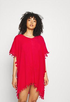 AMNESIA KAFTAN - Beach accessory - rouge