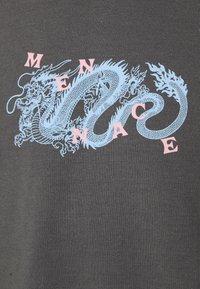 Mennace - MENNACE CHINESE DRAGON SWEAT - Felpa - dark grey - 2