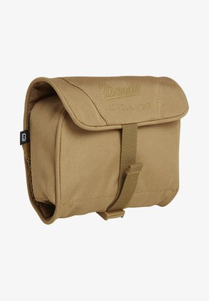 MEDIUM - Wash bag - camel