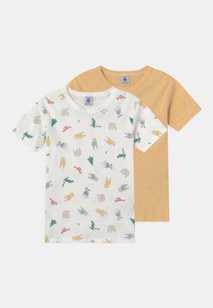 2 PACK - Print T-shirt - yellow