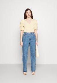 Object - OBJTAMAR - T-shirt print - bamboo/sandshell - 1