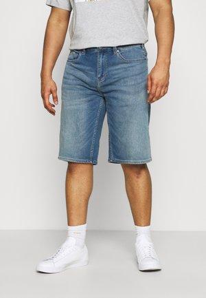 BERMUDA - Shorts di jeans - blue denim