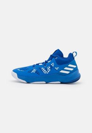 PRO N3XT 2021 BASKETBALL TEAM BOUNCE SHOES MID - Basketbalschoenen - bright blue/footwear white/team royal blue