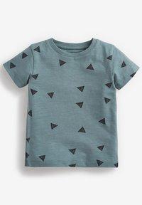 Next - 3 PACK  - Print T-shirt - blue - 3