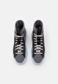 Converse - CHUCK TAYLOR ALL STAR CRATER - High-top trainers - black/dark grey/light grey - 3
