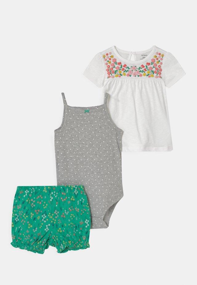 SET - Top - green/white