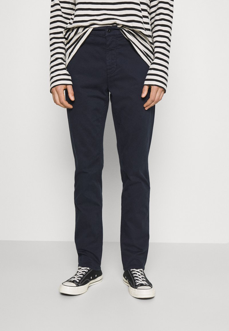 Nudie Jeans - EASY ALVIN - Chino kalhoty - dark midnight