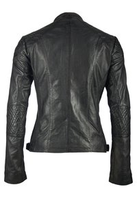 deercraft - SUN LAJUV - Leather jacket - black - 1