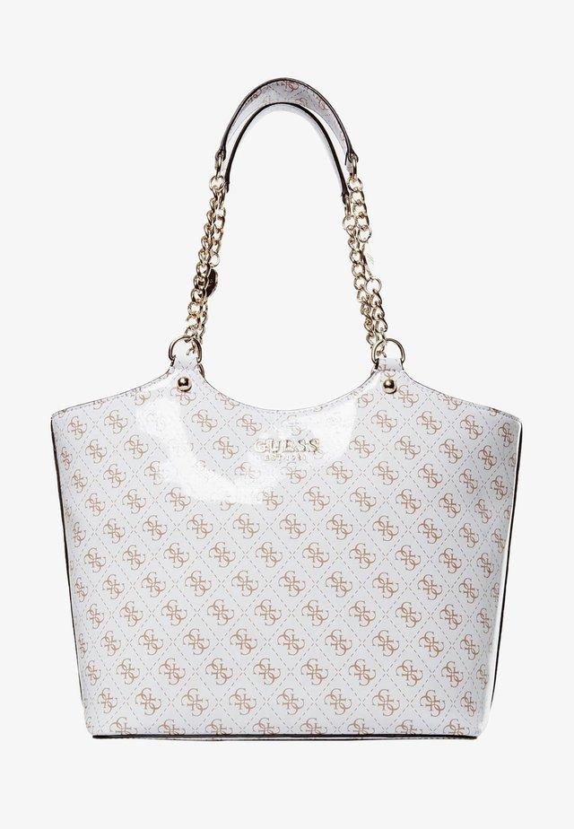 LORENNA  - Shopping bag - white