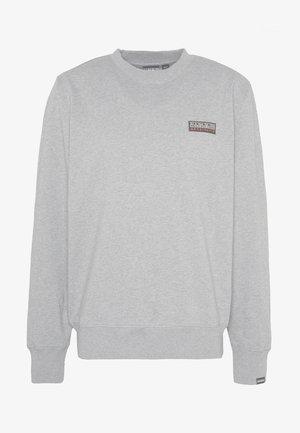BASE - Sweatshirt - medium grey melange