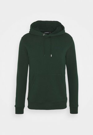 THROW CLEAN HOODIE - Sweater - hunter green