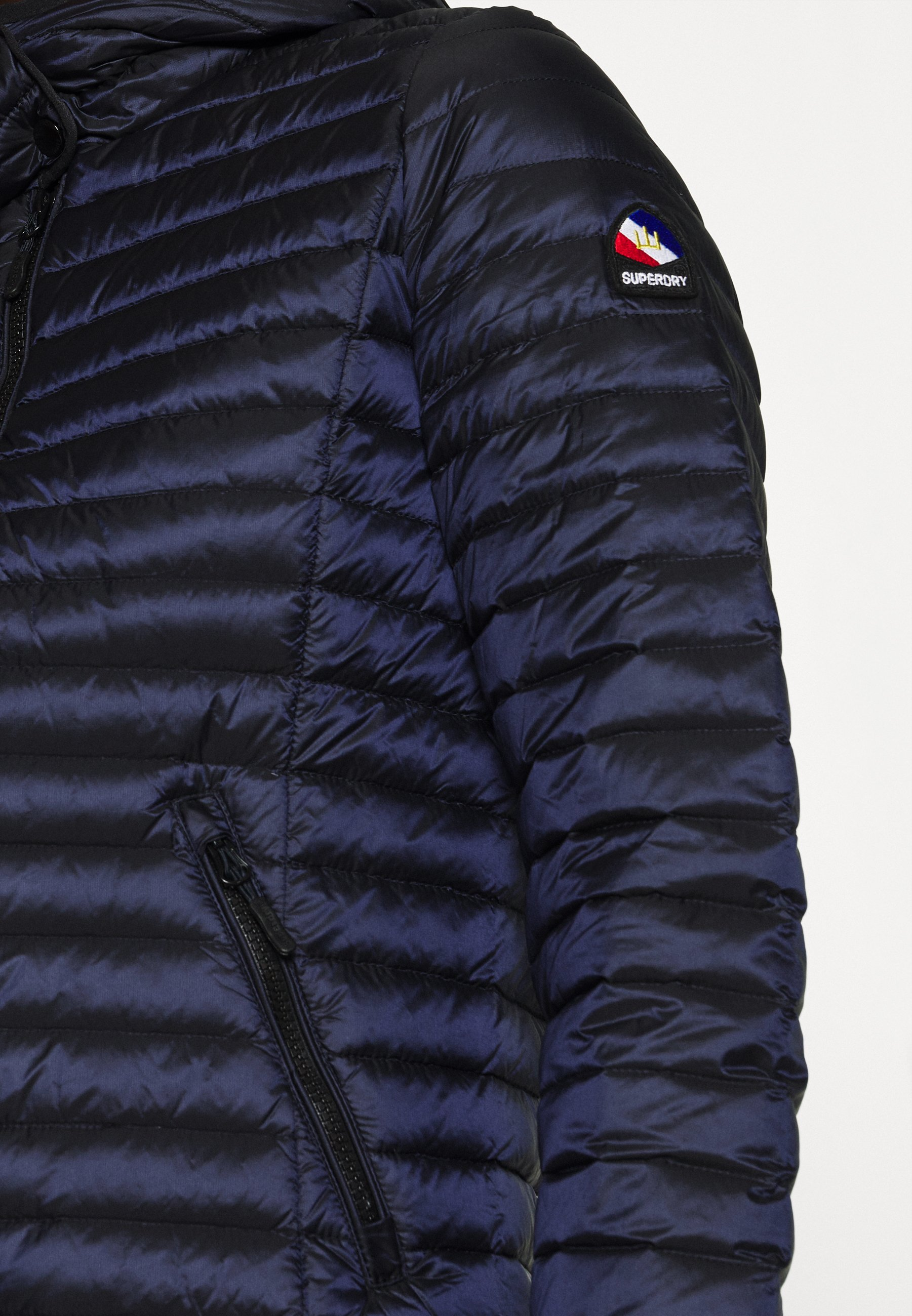 Amazing Price Aaa Quality Women's Clothing Superdry CORE Down jacket darkest navy klTdncufR IQQG6x4Rz